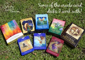 Seren Image Oracle cards
