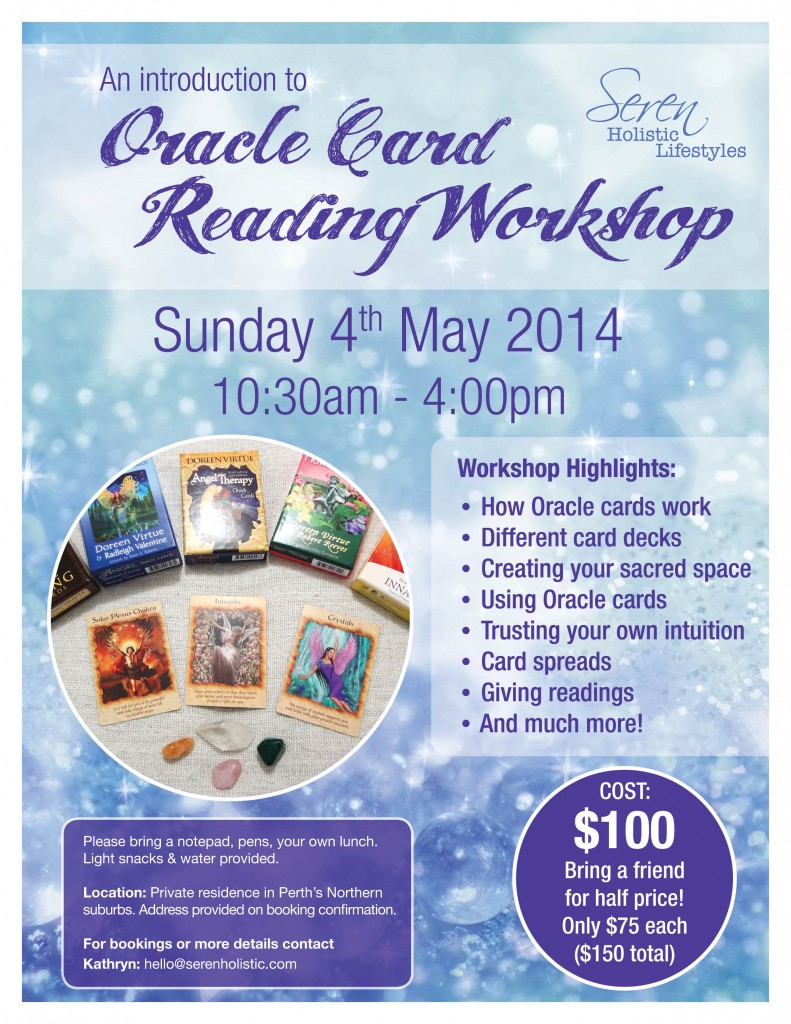 Seren Oracle Card Worksop May 14