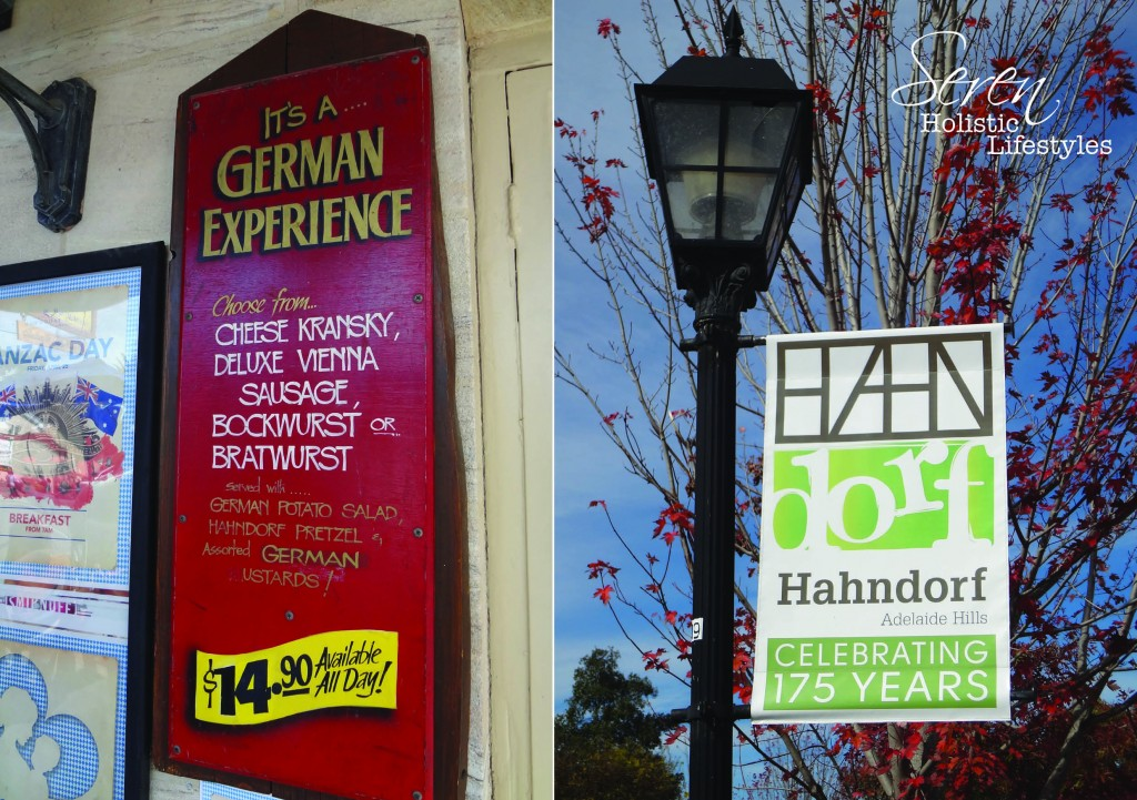 The charming & quaint German town of Hahndorf.
