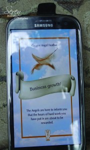 Seren blog Angel feather business