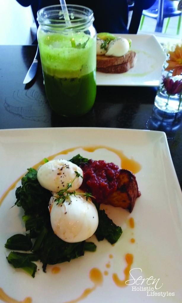 Amazing apres Bikram organic breakfast