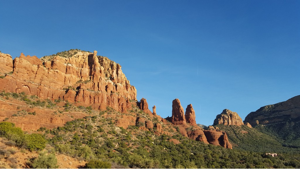Sedona Red rocks landscape