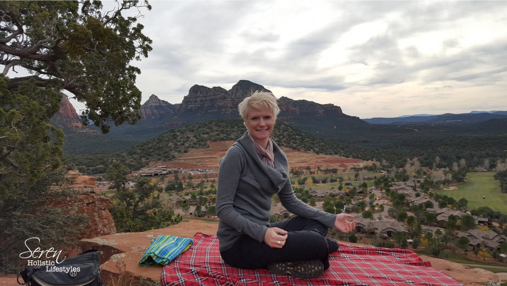 Finding my guidance in Sedona, Arizona.