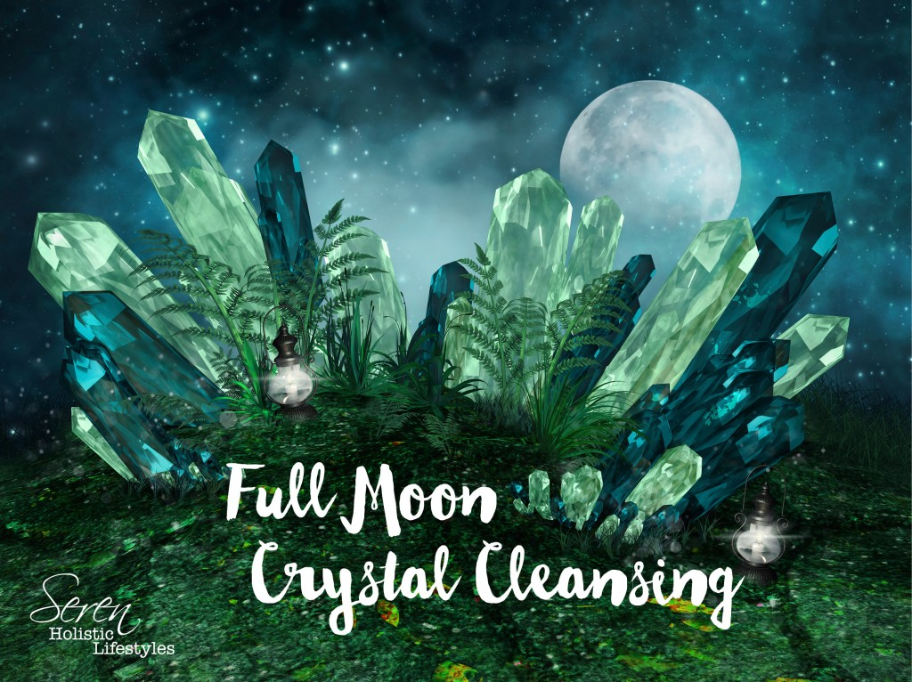 Seren FULL MOON crystals 2016