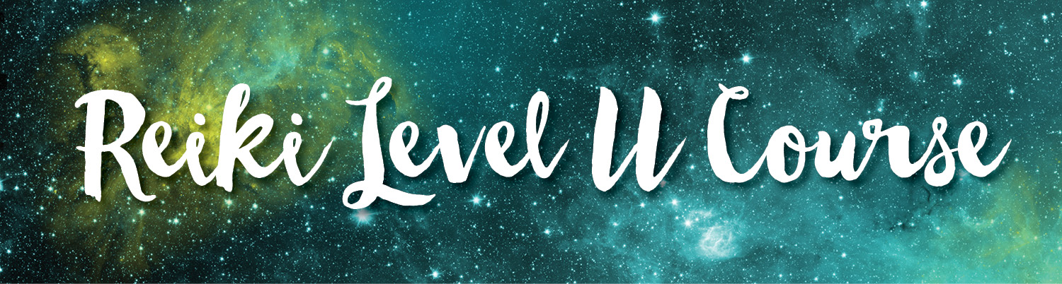Web Reiki Level II banner