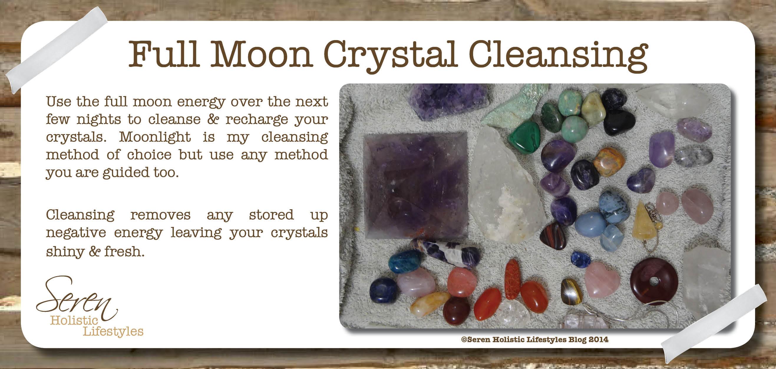 Full Moon Cleansing - Seren Holistic Lifestyles